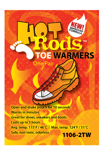 OCC1106-10TW OccuNomix Regular Hot Rods™ Heat Packs Toe/Feet Warmers