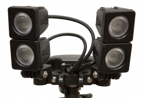 2-4-35 Air Systems® Air Light-II™ DC Powered Quad Cube LED Light Series-QUAD CUBE LIGHTS