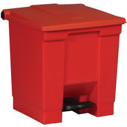 6143 Step-On Container, 6143 Rubbermaid Commercial® Step-On Medical Waste Receptacle - 8 Gal