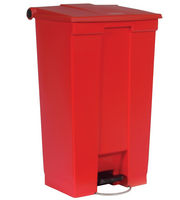 6146 Mobile Step-On Container, 6146 Rubbermaid Commercial® Mobile Step-On Medical Waste Receptacle - 23 Gal