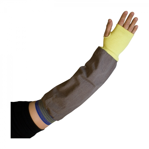 PIP® Kut-Gard® Flame-Retardant 22-in Sleeves w/ Thumb Hole