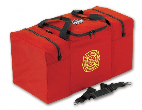 Arsenal® 5060 Step-In Combo Gear Bag , GB5060 Ergodyne® Arsenal® Step-In Combo Red  Fire & Rescue Gear Bag