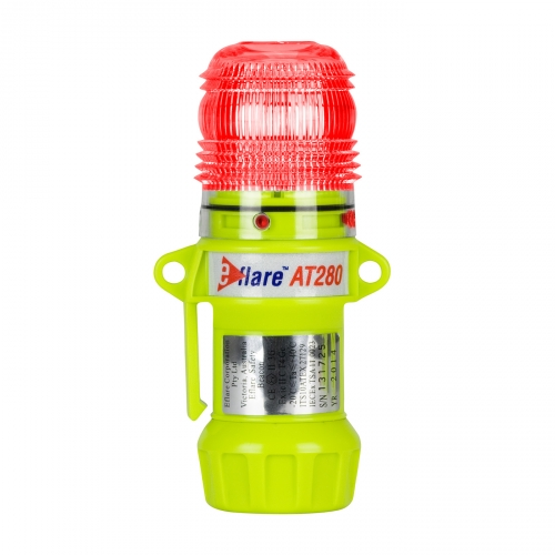 PIP® E-flare™ 6` Safety & Emergency Beacon Steady/Flashing Red color
