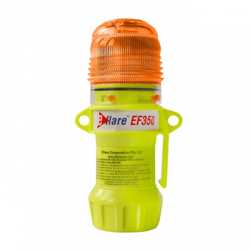 99-EF350-A PIP® E-flare™ 6` Safety & Emergency Beacon Steady/Flashing Amber color