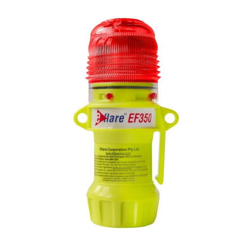 939-EF350-R PIP® E-flare™ 6` Safety & Emergency Beacon Flashing Red color