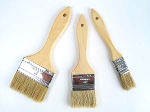 Peacock Paint Brushes with Pure Bristles