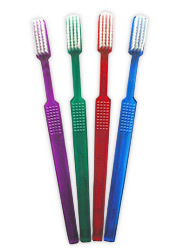 #10100B OraBrite® Adult Coral Max 47 Toothbrushes