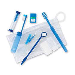 #48017 Oraline® Orthodontic Patient Kits w/ Travel Bag