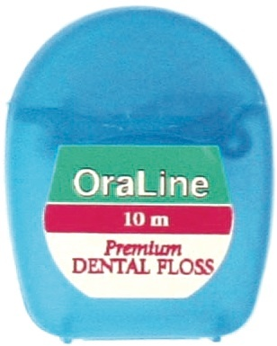 #48032 OraBrite 10m Plain PTFE Premium Dental Floss