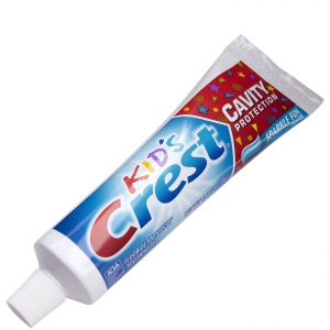 Crest® Kid's Toothpaste, 40159 Procter & Gamble™ .85-oz Crest® Anti-Cavity Kids Sparkle Toothpaste