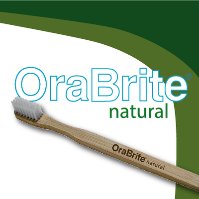 OraBrite Biodegradble Bamboo Toothbrushes