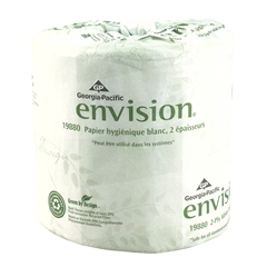 Georgia Pacific® 19880 Envision® 2-Ply Standard Bathroom Tissue Rolls