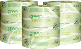 Green Heritage 2-Ply Recycled Standard Bathroom Tissue Rolls