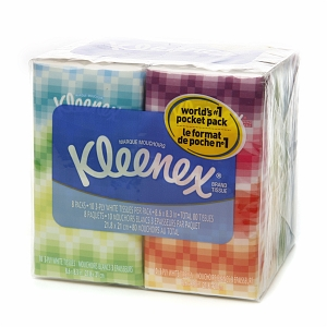 Kimberly Clark® Professional Kleenex® Pocket Facial Tissue Travel Packs