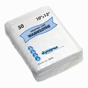 1315 Dynarex® Disposable Wash Cloths