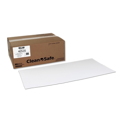 Sellars® Clean-Safe™ Z300 15` x 30` Disposable Bath Towels