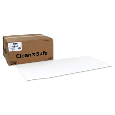 Sellars® Clean-Safe™ Z300 19` x 39` Disposable Bath Towels