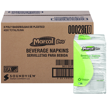 Marcal Pro® Bevage Napkins