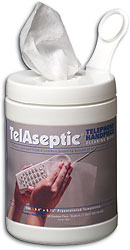 #3538 TelAseptic Telephone Cleaning Towelettes