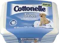 Cottonelle Fresh Care Flushable Moist Wipes, 11961 Kimberly Clark® Professional Cottonelle® Fresh Care Bathroom Wipes