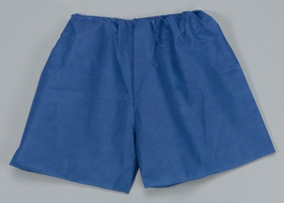 960404 Tidi® Disposable Orthopedic SMS Non-woven Patient Exam Shorts- Plus Size