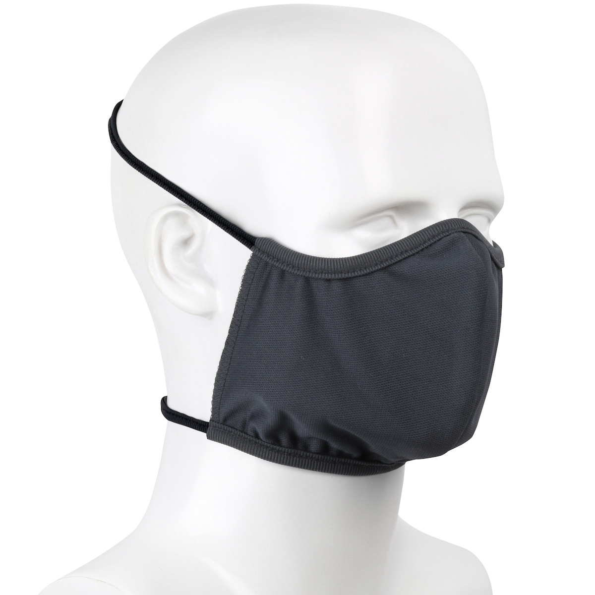 PIP® 2-ply Polyester Anti-microbial Treated Reusable Face Covers with Head Band Straps