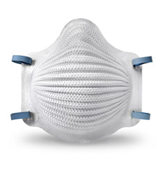 4201 Moldex® N95 AirWave® Disposable Particulate Respirator w/ Dura-Mesh® Shell