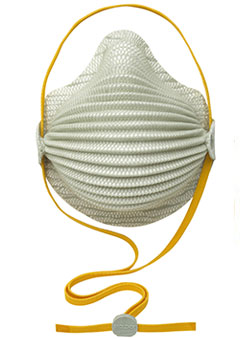 4600 Moldex® N95 AirWave® Disposable Particulate Respirator w/ Adjustable and Hangable SmartStrap®