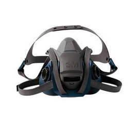 6501QL 3M™ Half Facepiece Rugged Comfort Reusable Respirator w/ Quick Latch Harness