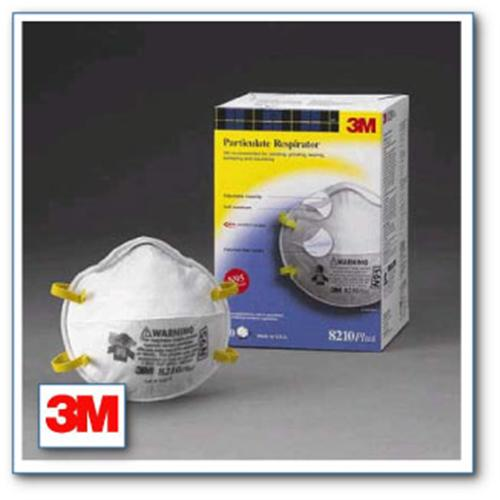 3M™ #8210 Disposable Particle Respirator, N95
