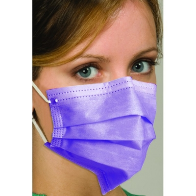 Defend® Breathe E-Z Disposable Protective Ear-Loop Facemasks