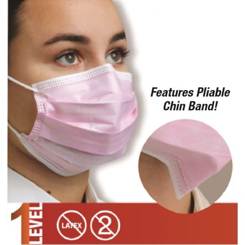Defend® Level 1 Dual Fit Ear-Loop Masks