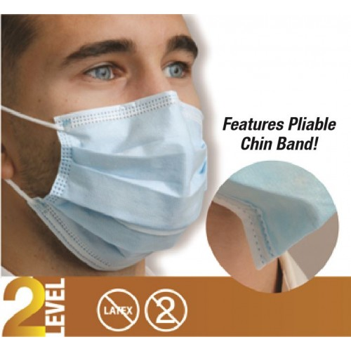 Defend® Level 2 Dual Fit Ear-Loop Masks