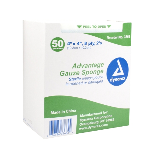 Sterile Advantage Gauze Sponges