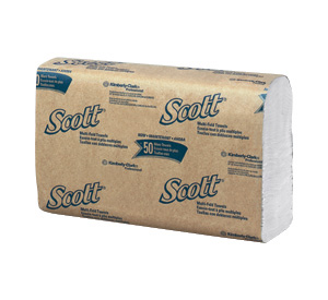 Kimberly Clark® Professional Scott® 01804 Multi-Fold Paper Hand Towels