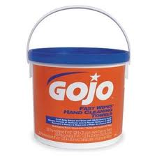 #6299 GOJO® Fast Wipes® Hand Towels (Bucket)