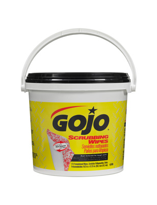 GOJO® Scrubbing Wipes, 6398 GOJO® Scrubbing Hand Wipes