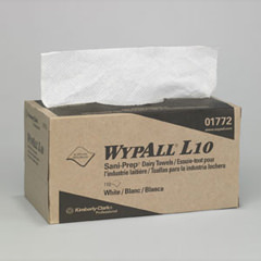 Wypall 174 L10 Antimicrobial Sani Prep Dairy Towels Cow
