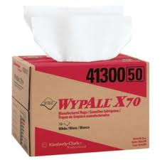 Kimberly Clark® Professional Wypall® 41300 X70 Disposable Manufactured Rags