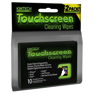 Kimberly Clark Kimtech Touchscreen Cleaning Wipes, 25932 Kimberly Clark® Kimtech® Disposable Electronic Touchscreen Wipes