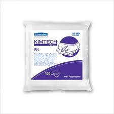 #33330 Kimberly Clark® Kimtech Pure® W4  Lint-Free Disposable Dry Wipes