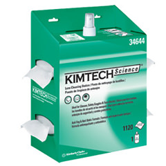 KIMTECH SCIENCE* KIMWIPES* Lens Cleaning Station CODE 34644
