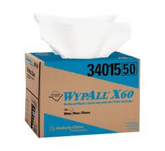 Kimberly Clark® Professional Wypall® 34015 X60 Disposable Wipers, Brag Box