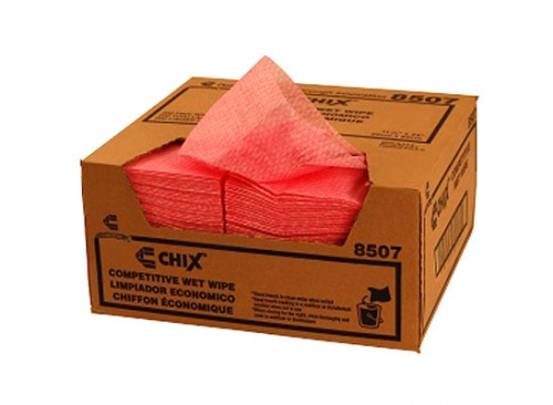 Chicopee® Chix® Competitive Pink Wet Wipes